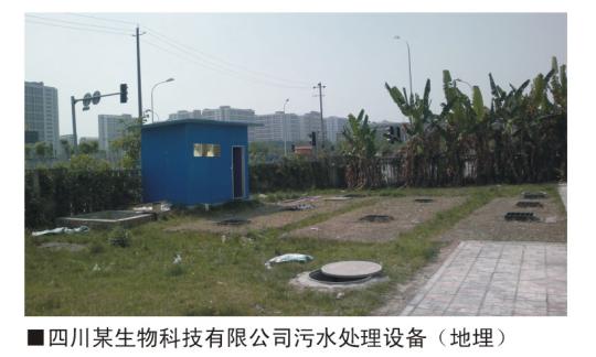 四川某生物科技有有限公司污水处理beplay体育网页版登录(地埋)