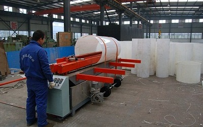 生产PP通风管道